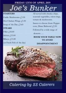 Steak Night Poster